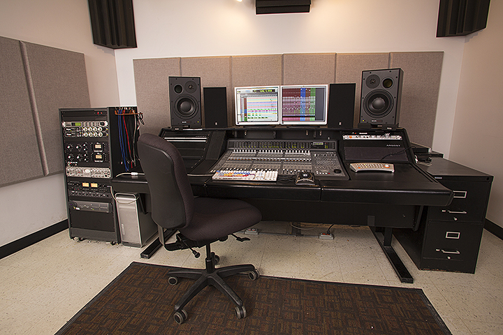 Studio C Control Room With An Avid C24 Console And Pro Tools Hdx System